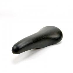 Black leather saddle Avocet