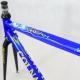 Cadre et fourche bleu et jaune Colnago Dream Art Decor T51