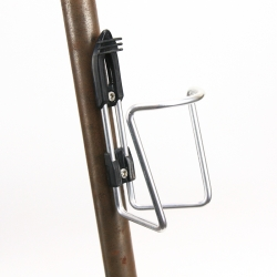 Porte bidon noir Elite avec visserie