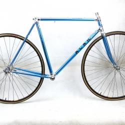 Cadre et fourche bleu Alan Super Record Taille 54