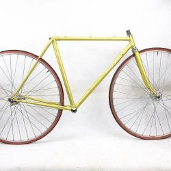 Cadre & fourche jaune Fausto Fiorelli Coppi Tour de France Super Columbus SL Taille 50