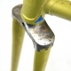 Yellow Frame & Forks Fausto Fiorelli Coppi Tour de France Super Columbus SL Size 50