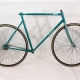 Green Frame & Fork MBK Racing Trainer Size 57