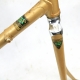 Gold Frame and Forks Motobecane C4 Size 59