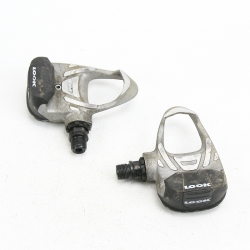 Silver Look Arc Pedals