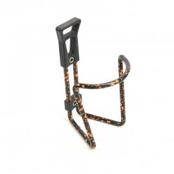 Porte bidon noir et orange avec visserie