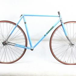 Blue Frame and Fork Barbry Size 52
