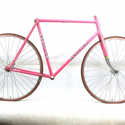 Pink Frame and Fork Mercier Size 56