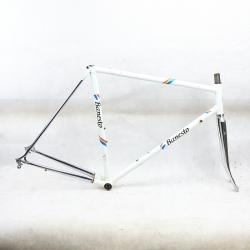 White frame and Forks Razesa Banesto Reynolds 653 Size 54.5