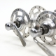 Front and rear Hubs Campagnolo Record High Flange