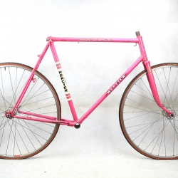 Pink Frame and Fork Mercier Size 58