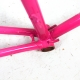 Pink Frame and Fork Alain Michel Size 52