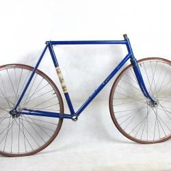 Cadre & fourche bleu Bergamin Taille 55