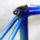 Blue Italian frame and fork Size 51