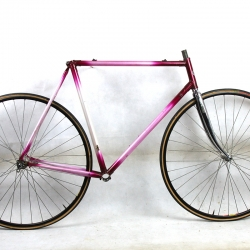Cadre & fourche violet et blanc Gios Compact Taille 56 1986