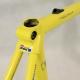 Cadre & fourche jaune Look KG171 Taille 54
