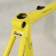 Yellow Carbon Frame & Forks Look KG171 Size 54