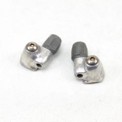 Downtube shifter cable stops Shimano