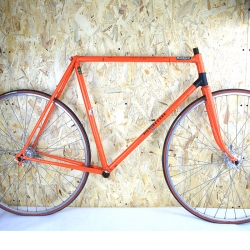 Cadre & fourche orange Motobécane Super Champion