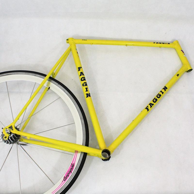 Cadre jaune Faggin Pisa Taille 61