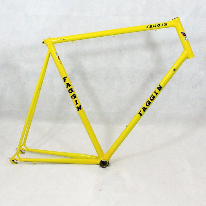 Cadre jaune Faggin Pisa Taille 61 - Cyclollector