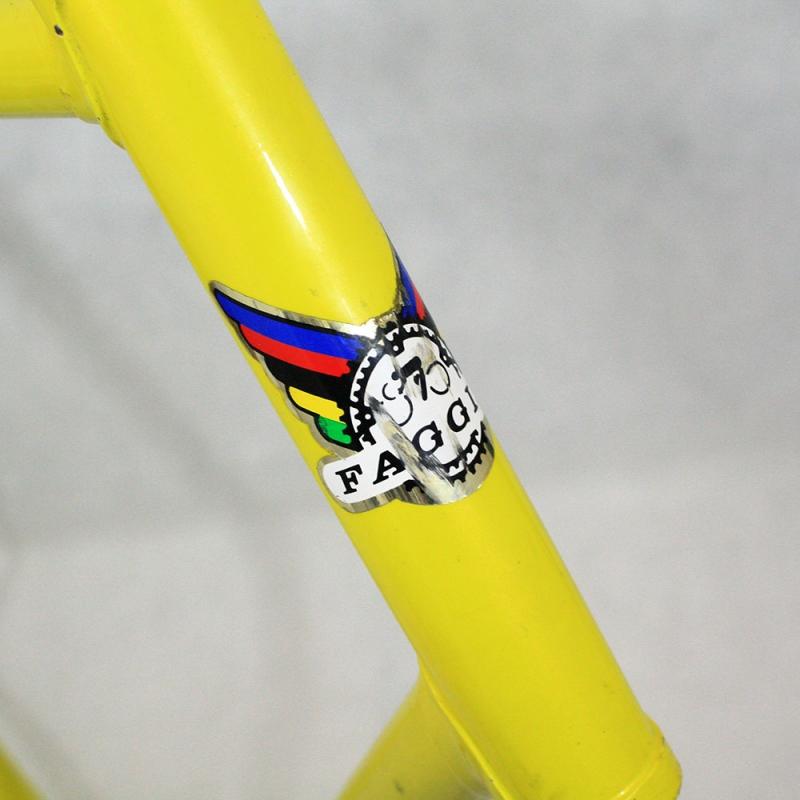 Yellow frame Faggin Pisa Size 61 - Cyclollector