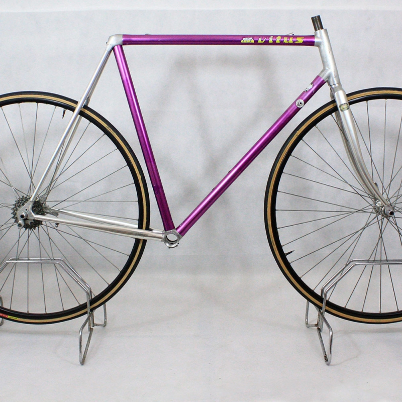 Purple Frame and Forks Vitus 979 Size 56