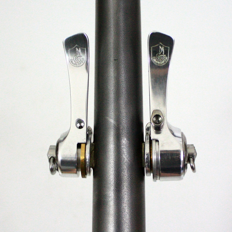 Campagnolo C-Record Syncro 8S downtube shifters levers