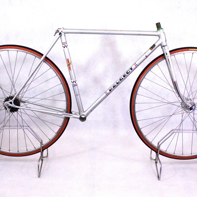 Silver Frame & Forks Peugeot PR10L Reynolds 531 Size 50