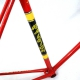 Red frame & Forks Team Raleigh Record Size 55.5
