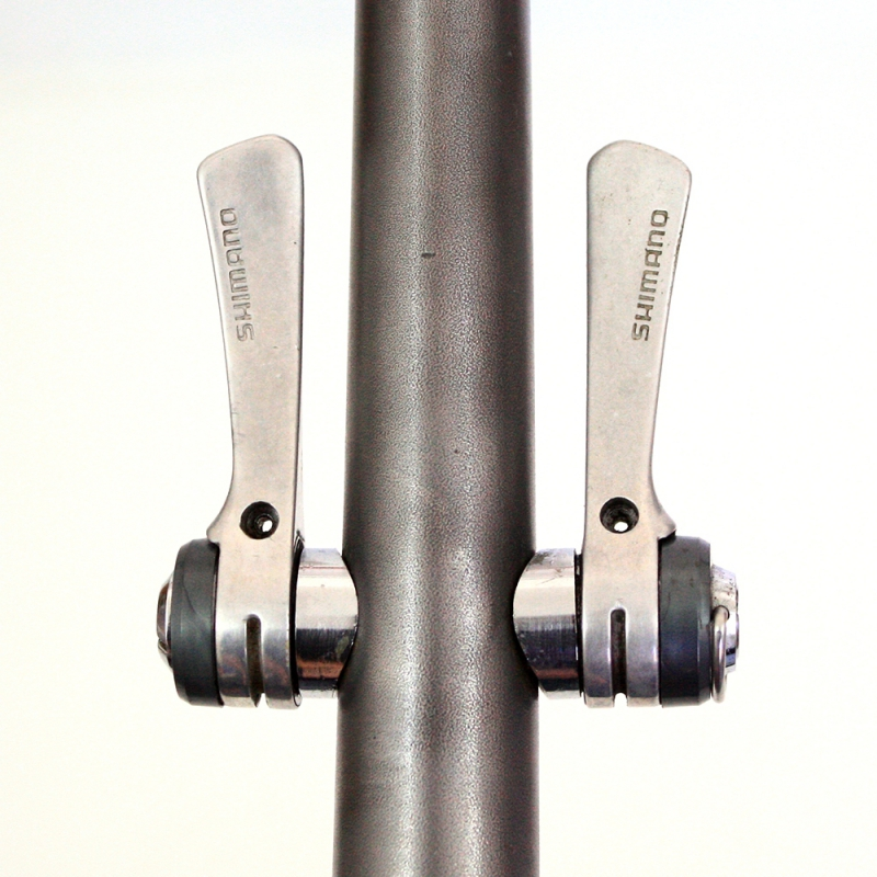 Shimano 300EX Exage downtube shifters levers