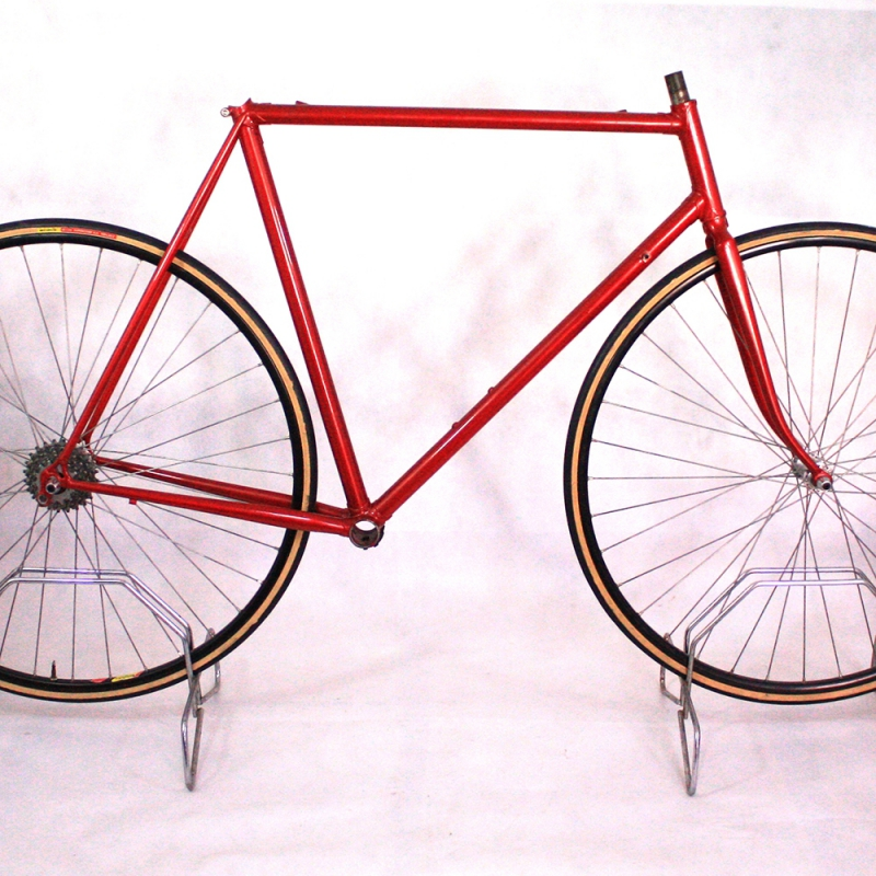 Red artisan Frame & Fork Prugnat Victoire lugs Size 56