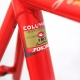 Cadre & fourche Rouge Fondriest Columbus FMX T53