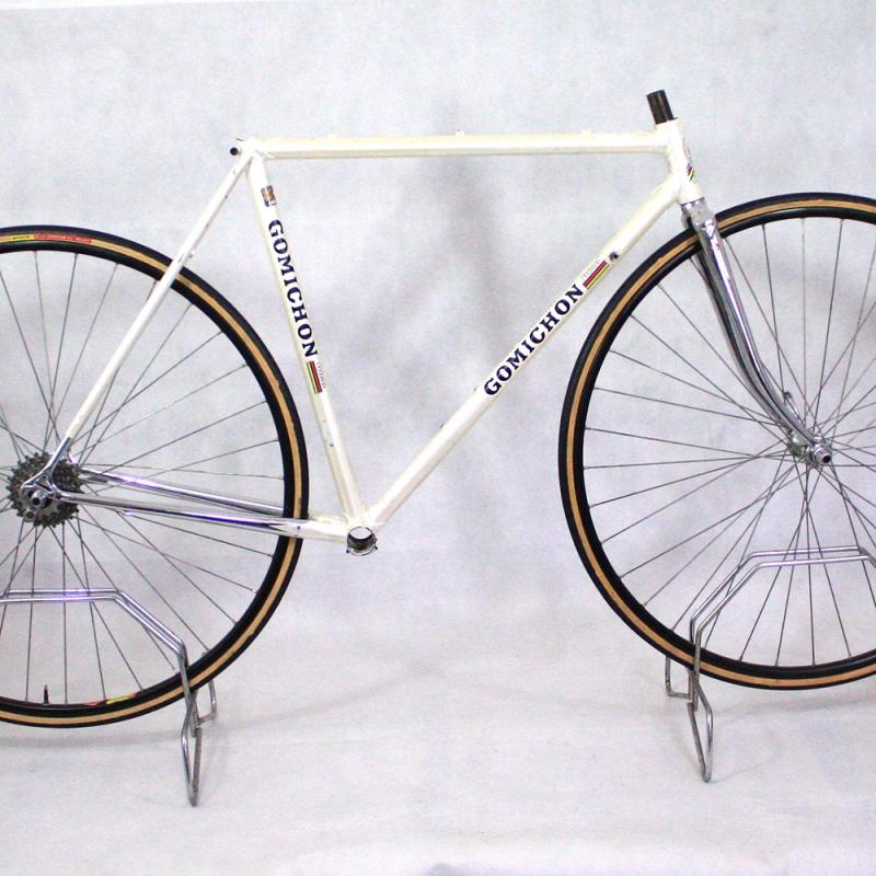 Cadre & fourche blanc Meral Columbus SL T51.5