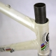 White frame and Forks Meral Columbus SL Size 51.5