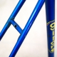 Cadre & fourche bleu Gitane Tour de France en Reynolds 531 Taille 56