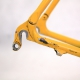 Yellow Carbon Frame and Forks Corima Viper Size 53