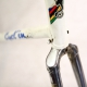 White frame and Forks Cavallo Marino Columbus Neuron Size 60