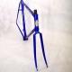 Blue Columbus Frame & Fork Cadre & fourche Pinarello Treviso Size 56