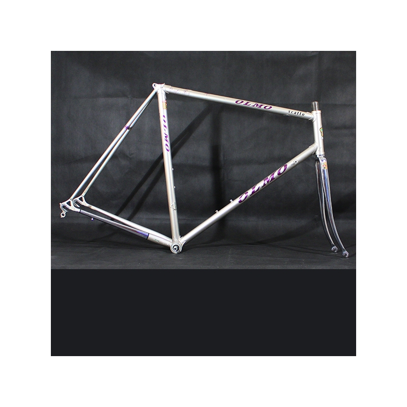 Grey & Purple Brain Frame & Forks Olmo Scatto Size 57