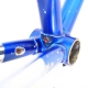 Blue frame CBT italia Columbus SLX Size 55