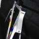 Grey Carbon Frame & Forks Look Monoblade KG196 Size 54