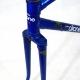 Cadre & fourche bleu Gitane Olympic en Reynolds 531 Taille 50