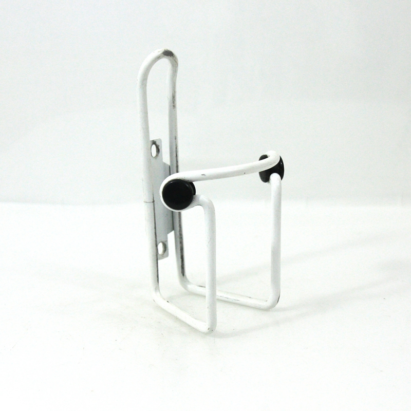 White bottle cage in aluminium