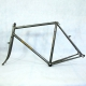 Cadre & fourche Cyclocross gris Courtois Taille 53