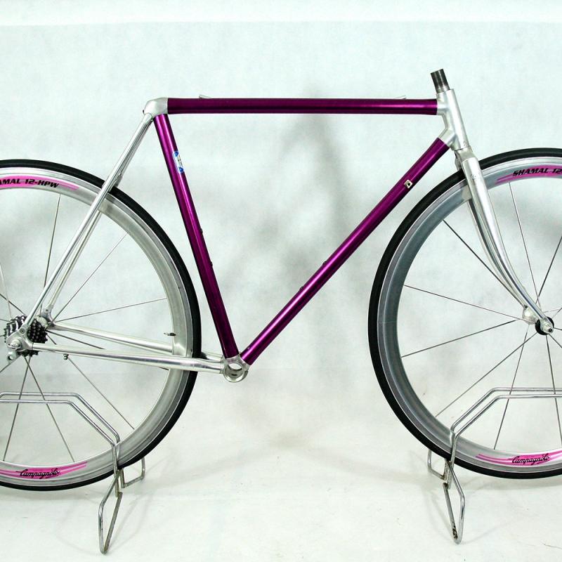 Cadre et fourche violet vitus 979 Taille 51
