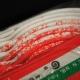 NOS NIB Red and White Bike Ribbon Handlebar Tape