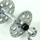 Front and rear Hubs Campagnolo Tipo Nuovo Gran Sport