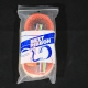 NOS NIB Black and fluo orange Best Ribbon Handlebar Tape