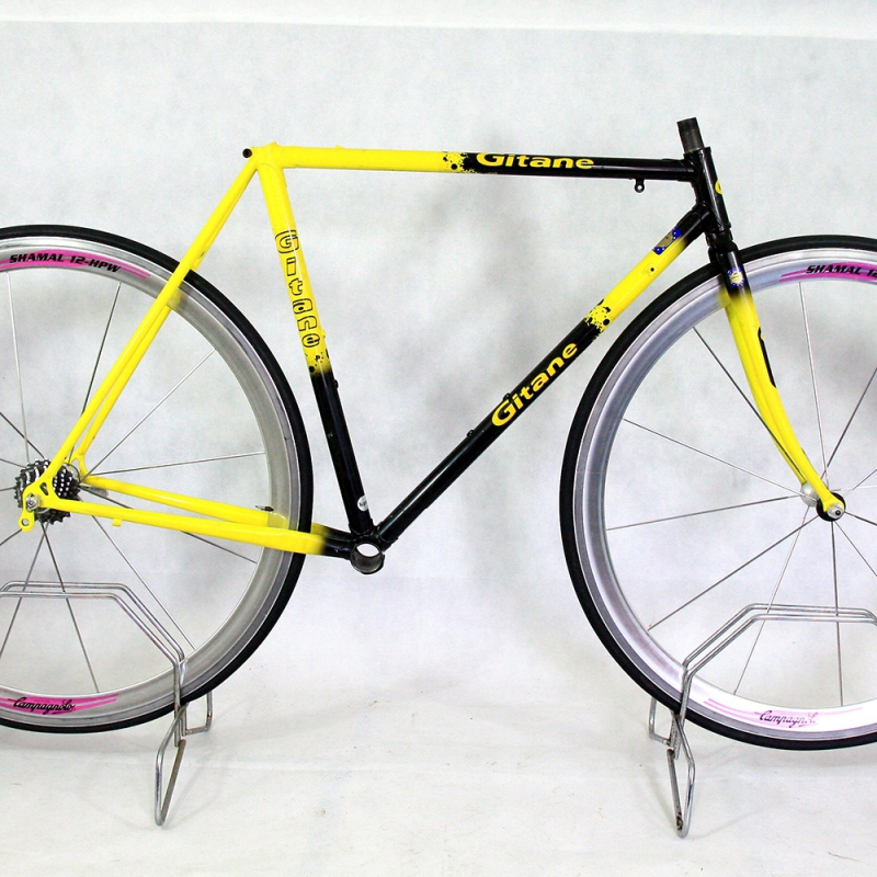 Black and yellow Frame & Fork Vitus GTI Gitane Team Replica Size 50
